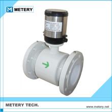 Medidor de caudal electromagnético acrílico de precio