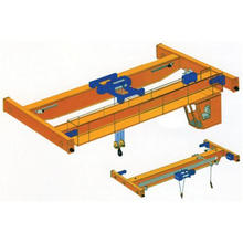 Electric Double Girder Overhead Crane with Wire Rope Hoist