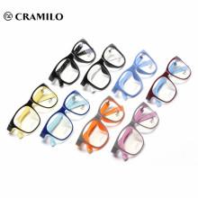 Italia diseño tr90 gafas de lectura óptica, marco de anteojos