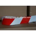 PE красный и белый предупреждение ленты