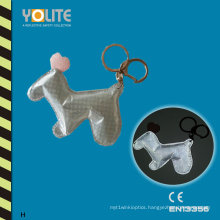 Soft Reflective Toys Keychain with CE En13356