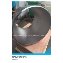 ASTM B16.9 Acero Inoxidable Seamless Eccentric Reducer