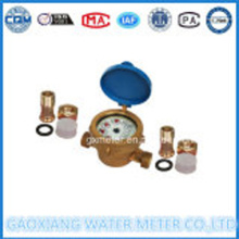 Brass SingleJet Wet Dial WaterMeter ทองเหลือง