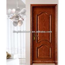 Новая краска высокого качества деревянные двери твердых древесины дверь MD-502 сделанные в Китае