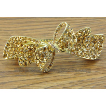Flower Bow Tie Colorful Charming Zinc Alloy Hair Clips