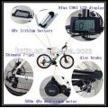 Kit elektrisches Fahrrad 48V für diy Fahrrad 500W bafang 8FUN BBS02 Motor Kit mit wasserdichtem Kabel