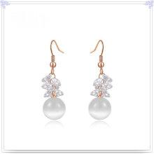 Perlen-Schmucksache-Art- und Weisezusatz-Legierungs-Ohrring (AE367)