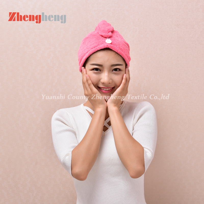Coral Fleece Hair Cap (9)