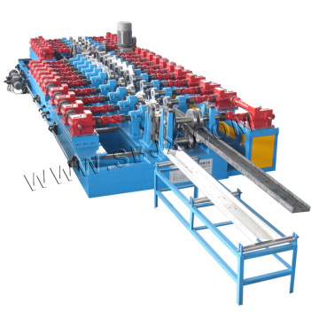 C&Z Purlin Interchangeable Forming Machine by Gearbox and Shaft for Each Station