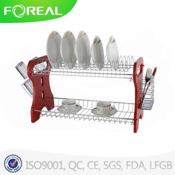 Kitchen Accessories Metal Wire Dish Rack