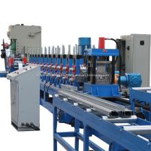 Máquina de formación de rollo de soporte fotovoltaico tipo C