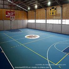China Facroty Verkauf PVC Sport Bodenbelag für Basketball Court