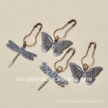 butterfly dragonfly floating charms