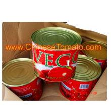 pasta de tomate gino em gana 70g 400g 2200g