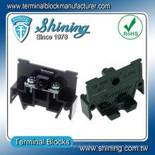 ТП-010 35мм DIN-рейку 600В 10А распределительная Коробка терминального блока
