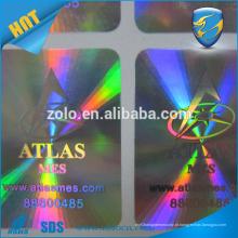 ZOLO holograma adesivo logotipo marca proteja uso para lâmpadas