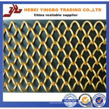 Construction en acier à faible teneur en carbone et clôture de liaison de chaîne de résidence (YB-008)