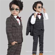 Новая мода красивые цветочные мальчики классные Свадебные костюмы