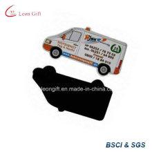 Imprimir o logotipo promoção carro distintivo de ímã para geladeira