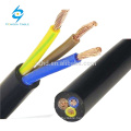 silicone insulated rubber cable red insulation
