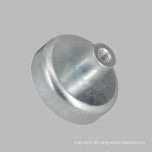 Ferrite Pot Magnete mit Gewindebohrung