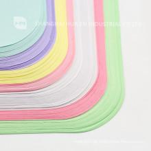 Cubierta dental dental colorida de la bandeja de papel