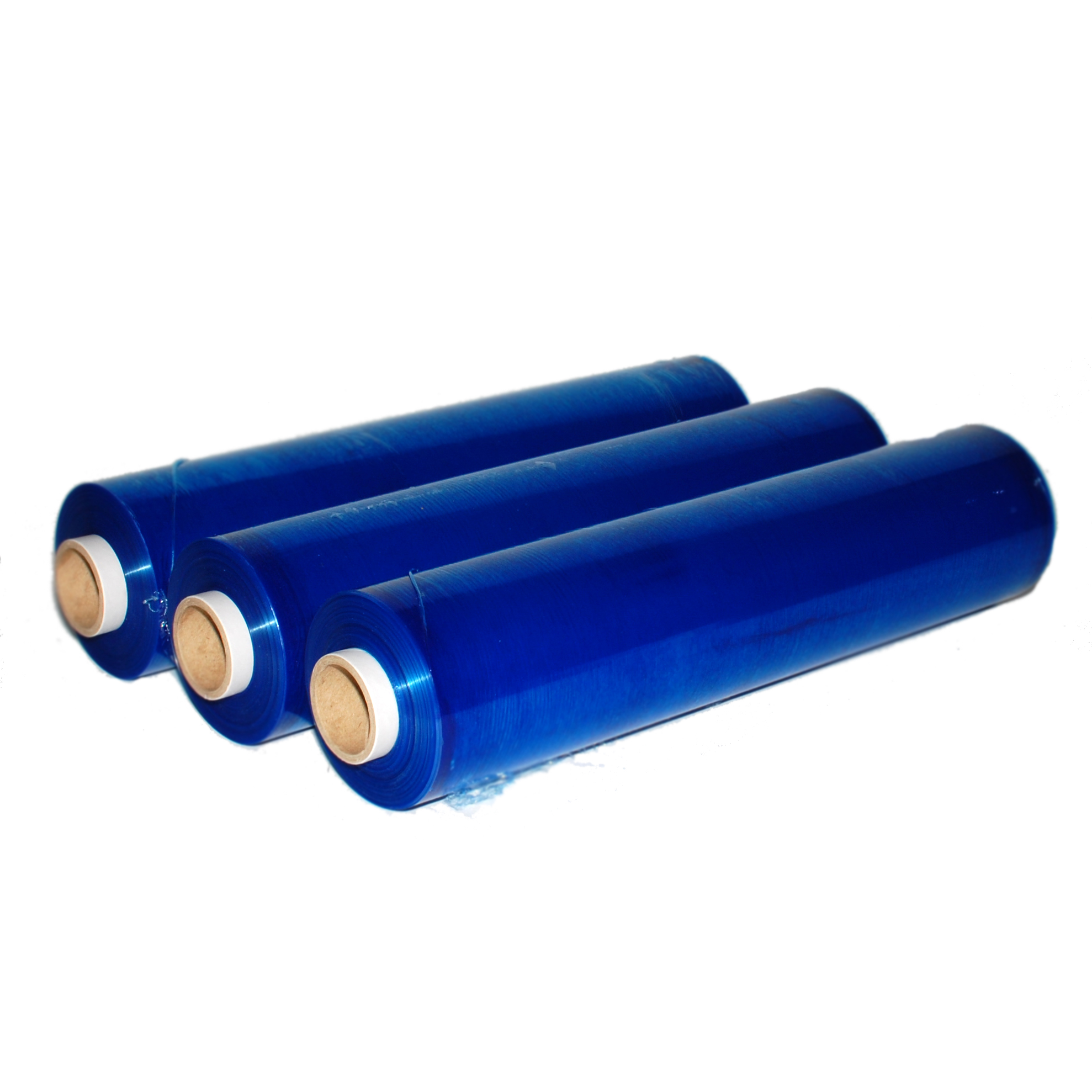 blue stretch film