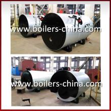 Fabricante profesional de la caldera de vapor encendida del aceite del tubo de fuego horizontal (gas)
