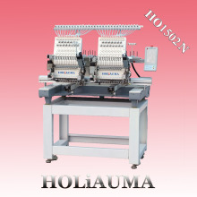 HOLiAUMA Hot Sale 2 Heads HO1502N DAHAO Computer Panel Embroidery Machine For Sale