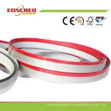 Las bandas de borde de PVC 3D son similares a las bandas de borde de acrílico