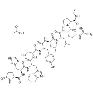 Leuprorelin acetate CAS 74381-53-6