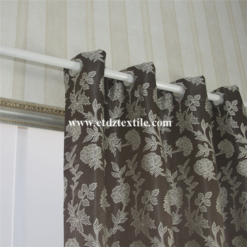 Mais recente Embroidery Like Window Curtain Shower Curtain