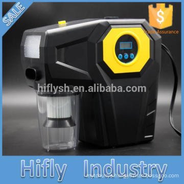 HF3607 digital car inflator Auto Car Tire Inflator 12V Electric Car Air Compressor Pump LED Light Digital Inflatable Pump