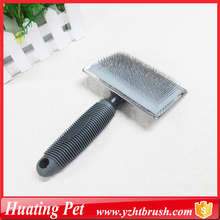China for Pet Slicker Brush self-cleaning dog slicker brush supply to Comoros Supplier