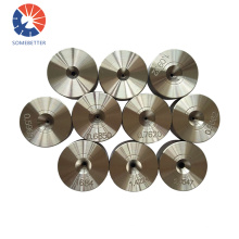 Nd Hole Size 0.10-0.20 Mm Natural Diamond Top Wire Blanks Custom Tc Dies Good Quality Tungsten Carbide Drawing Die For Wires