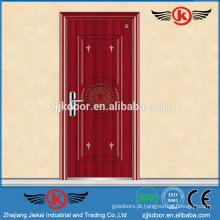 JK-F9029 porta de fogo de madeira de qualidade fina porta ignífuga inquebrável