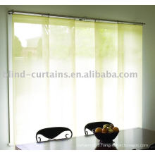Panel blind in home and garden