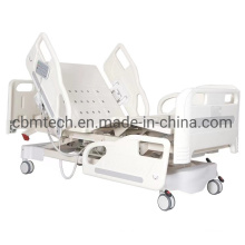 China Mechanical Three Function Height Adjustable Hospital Beds
