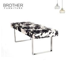 Французский винтажный стиль пользовательского конец кровать скамейка, длинная тахта-кровать конец стул ноги