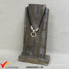 Pantalla de madera hecha a mano de la joyería