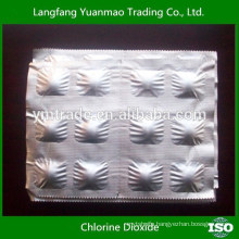 stable chlorine dioxide disinfectant for swimming pool bleach