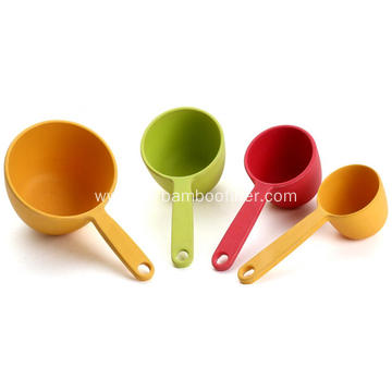 Short shank and big size measuring cup
