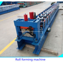 Aluminium acier toiture faîtage formant la Machine