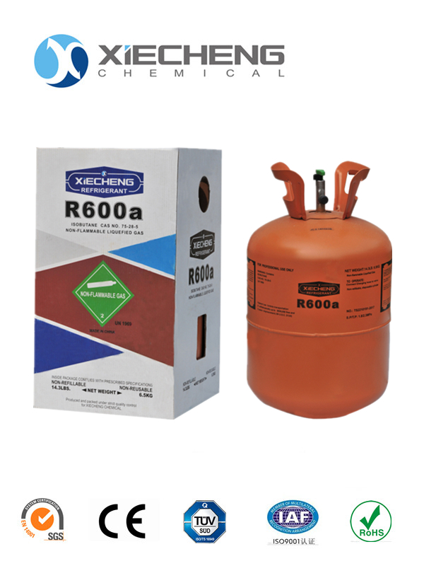 high purity isobutane Refrigerant R600A