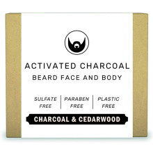 Natural Moisturizing Activated Charcoal Beard Shampoo Body Bar Soap