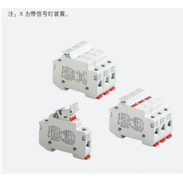 low voltage RT18 Cylindrical inline fuse holder
