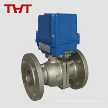 THT WCB ball valve with explosion proof electric actuator