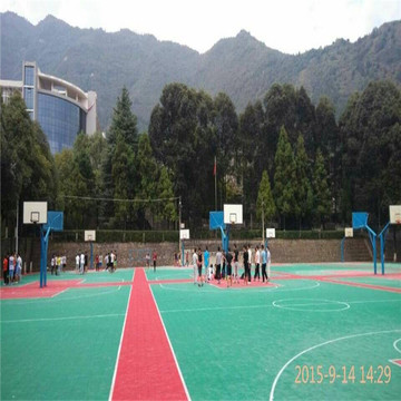 Modular Colorful Modular Interlocking Court Court Floor