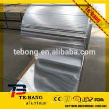 8011 1235 Industry Bulk Lámina de aluminio Jumbo Roll precio / industrial rollo de aluminio / embalaje de alimentos papel de aluminio fabricante
