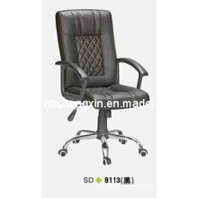 Silla de oficina de cuero de alta calidad PU lujosa y confortable
